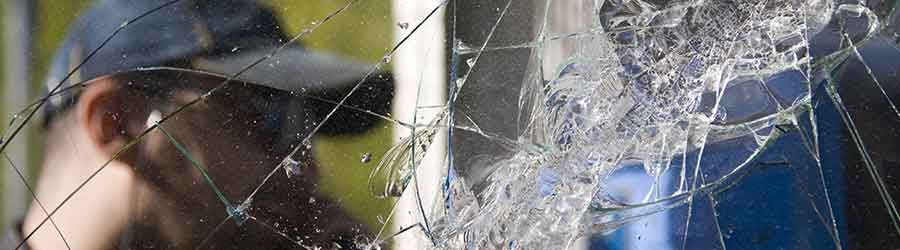 Glas herstellen na inbraak